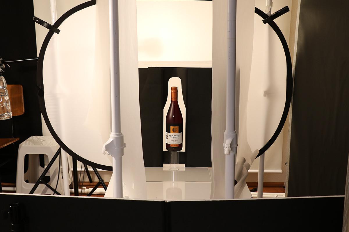 ボトル商品撮影