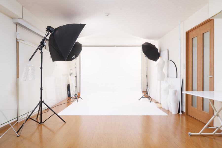 撮影スタジオスペース