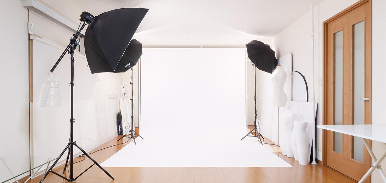 カメラマン 写真撮影スタジオ